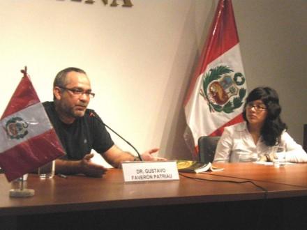 """Presentación de Gustavo Faverón en """"La casa de la literatura"""""""